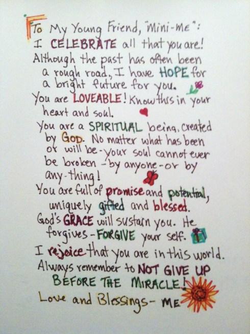 encouragement letter to a friend